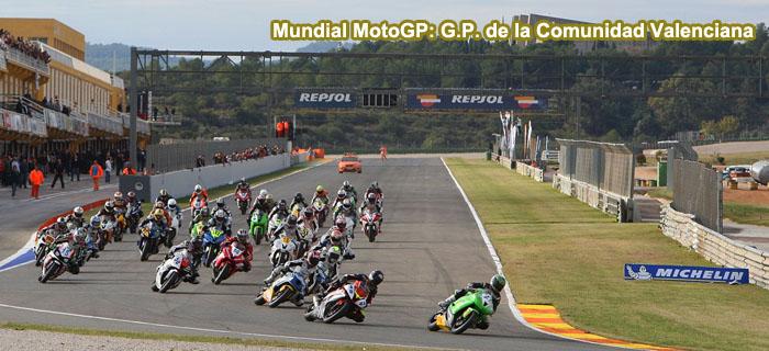 Mundial MotoGP: G.P. de la Comunidad Valenciana