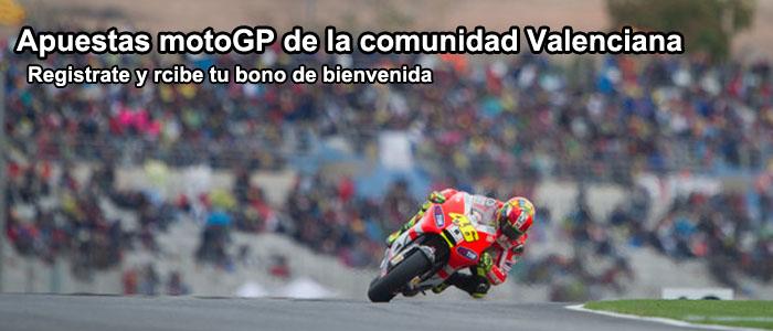 Apuestas motoGP de la comunidad Valenciana