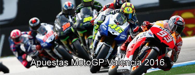Apuestas MotoGP Valencia 2016