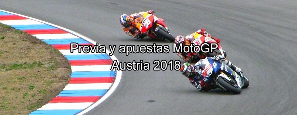 Previa y apuestas MotoGP Austria 2018