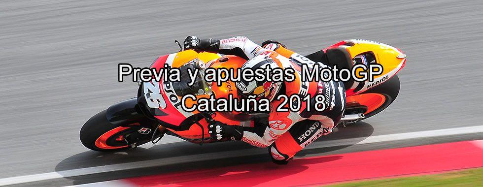 Previa y apuestas MotoGP Cataluña 2018