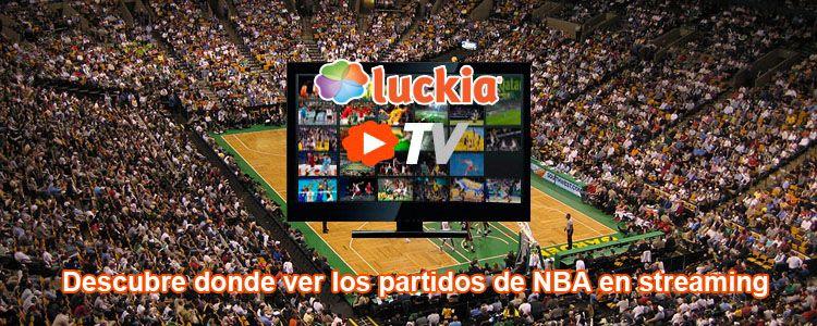 Descubre donde ver los partidos de NBA en streaming