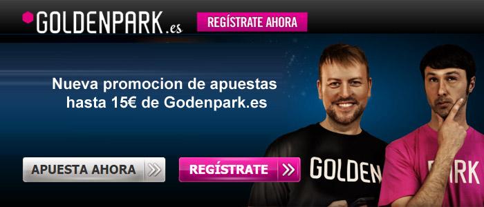 Goldenpark.es presenta una nueva promoción de apuestas deportivas