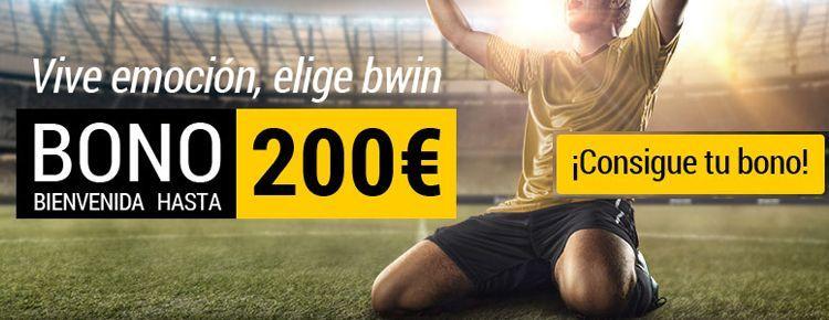 Bwin ofrece un nuevo Bono de hasta 200 euros