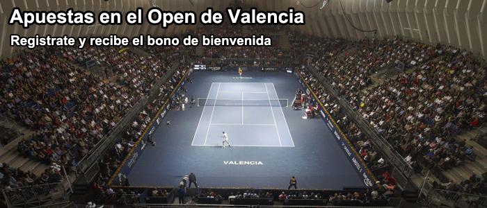 Apuestas en el Open de Valencia