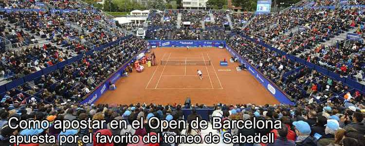 Como apostar en el Open de Barcelona