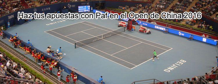 Haz tus apuestas con Paf en el Open de China 2016