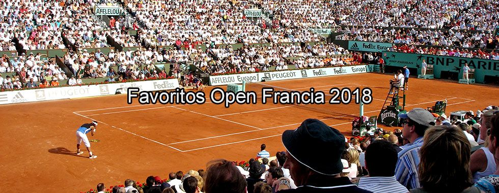 Favoritos Open Francia 2018