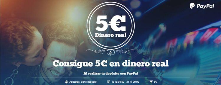 Consigue 5€ en dinero real con PAF