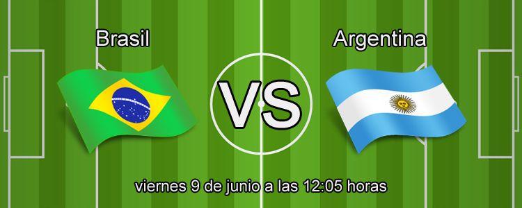 Apuesta con Wanabet en el partido Brasil - Argentina