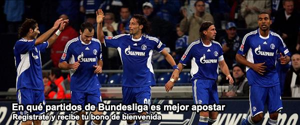 En qué partidos de Bundesliga es mejor apostar?