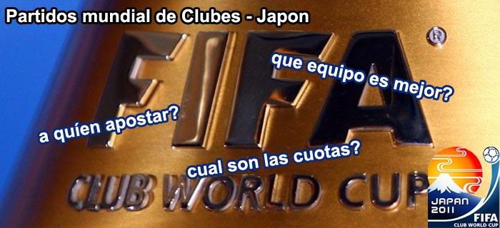 Partidos mundial de Clubes - Japon