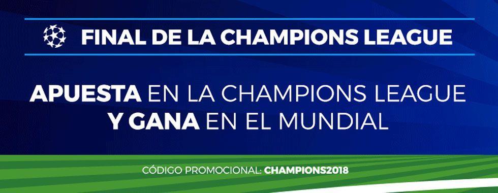 Nueva promoción para la Final de Champions y el Mundial de Rusia