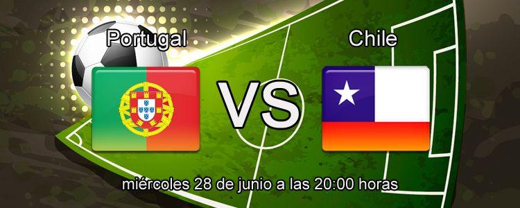 Apuesta segura de la semana para el partido Portugal - Chile