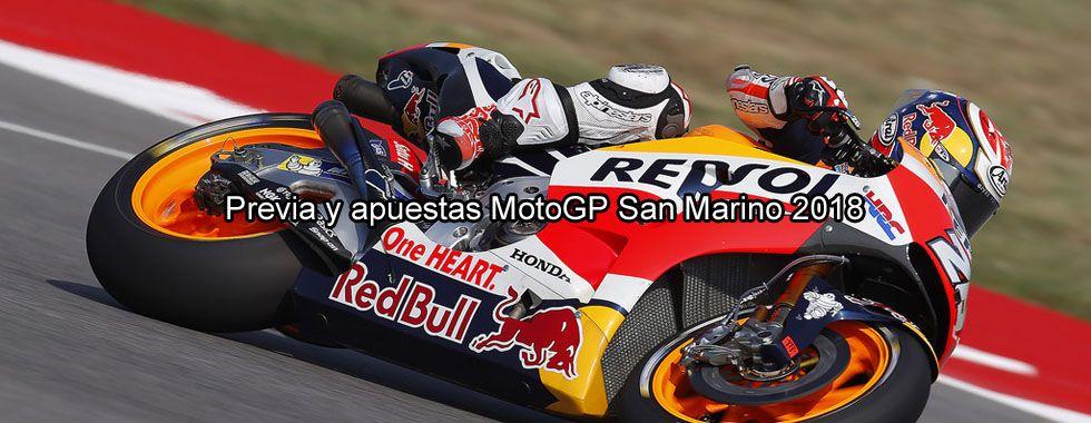 Previa y apuestas MotoGP San Marino 2018