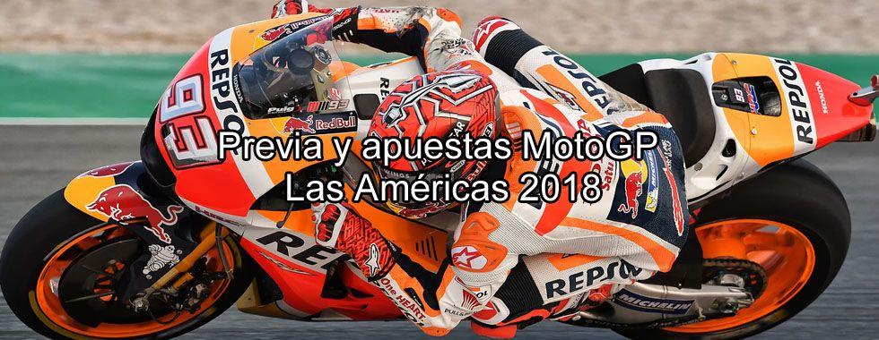 Previa y apuestas MotoGP Las Américas 2018