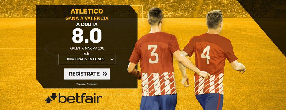 Previa y apuestas: Valencia - Atlético de Madrid