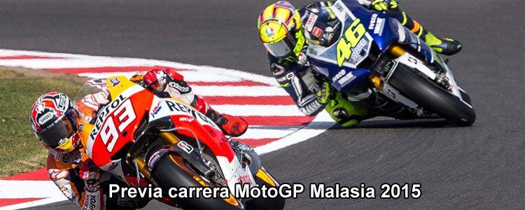 Previa carrera MotoGP Malasia 2015