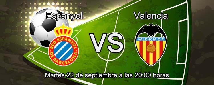 Apuesta por la victoria de Valencia ante el Espanyol