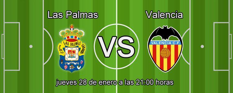 Previa del partido Las Palmas - Valencia
