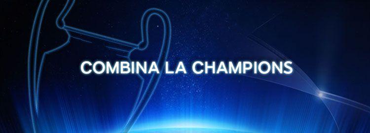 Promoción apuestas combinadas Champions League