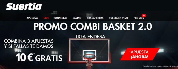 Promoción apuestas basket