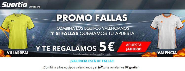 Suertia presenta la promo Fallas