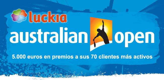 Apuesta en la maratón del Open de Australia con Luckia