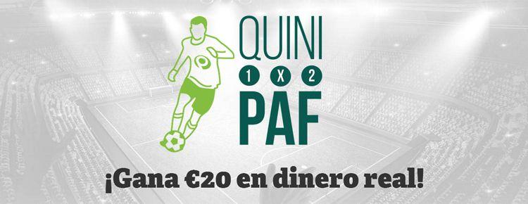 Gana €20 en dinero real con Paf