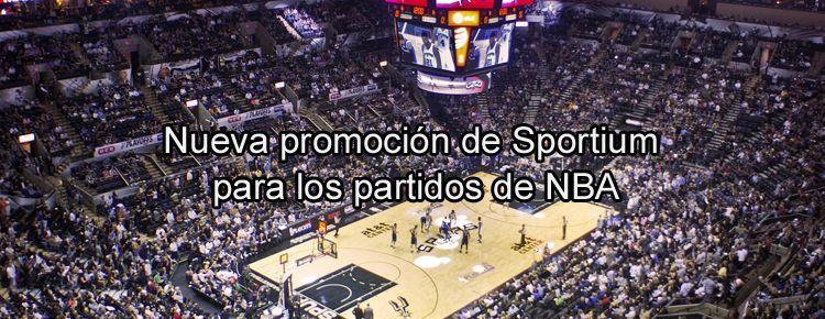 Nueva promoción de Sportium para los partidos de NBA