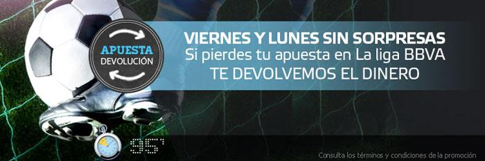 Nueva promoción de Suertia para los partidos de la Liga BBVA
