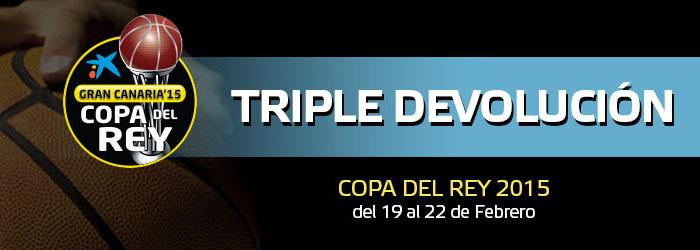 Promoción Triple Devolución de Suertia