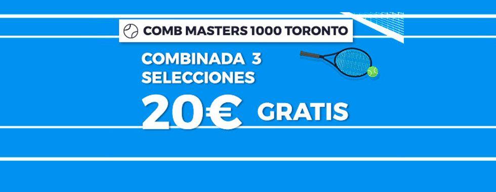 Apuesta en el Masters 1000 de Cánada con Pastón