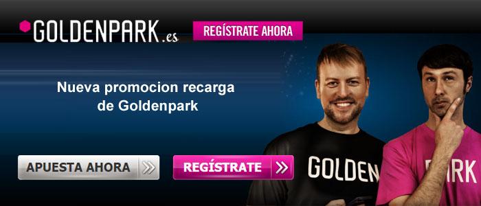 Nueva promocion recarga de Goldenpark