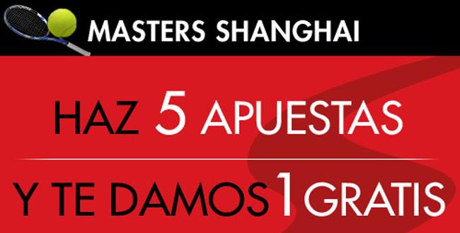 Sportium te regala una apuesta gratis en el Masters de Shanghai