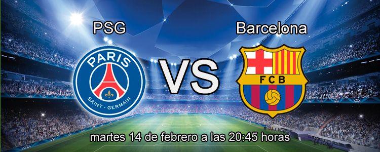 Previa del partido PSG - Barcelona