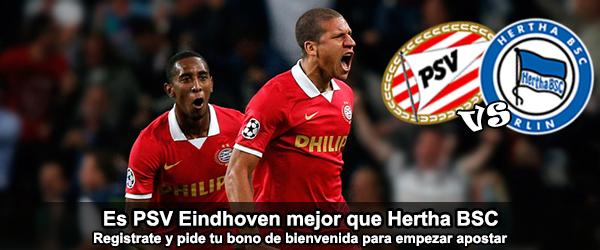 Apuesta en el partido amistoso Hertha BSC – PSV Eindhoven