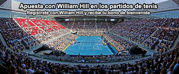 Varias formas de apostar en un partido de tenis con William Hill