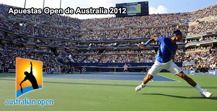 Apuestas Open de Australia 2012