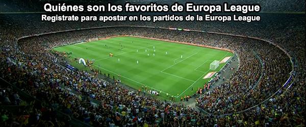 Quiénes son los favoritos de Europa League