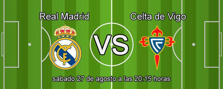 Real Madrid se enfrenta contra el Celta de Vigo en la Liga