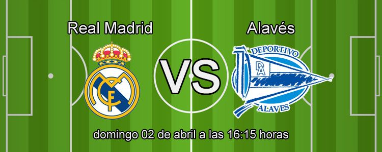 Apuesta con Suertia en el partido Real Madrid - Alavés