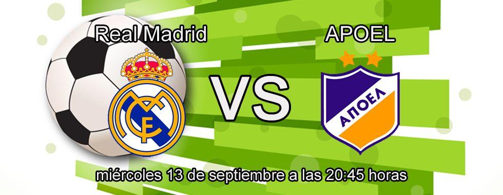 Apuesta con Bet365 en el partido Real Madrid - Apoel