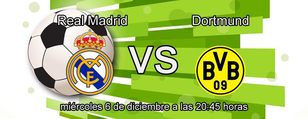 Consejos para apostar en el partido: Real Madrid - Dortmund