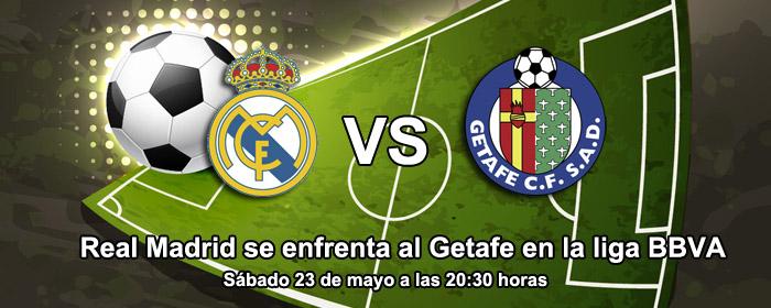 Real Madrid se enfrenta al Getafe en la liga BBVA