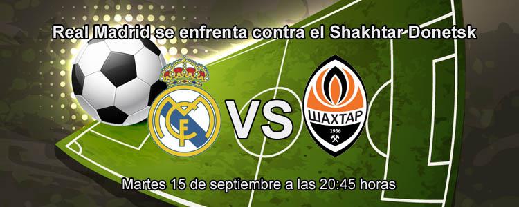 Previa del partido de Champions: Real Madrid - Shakhtar Donetsk