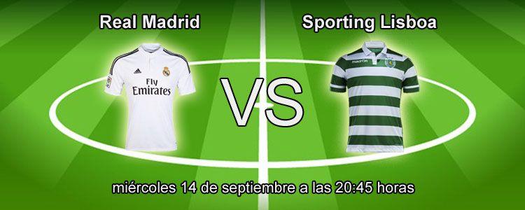 Apuesta segura de la semana para el partido Real Madrid - Sporting Lisboa