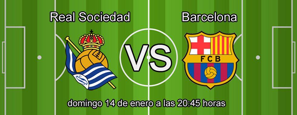 Consejos para apostar en el partido: Real Sociedad - Barcelona