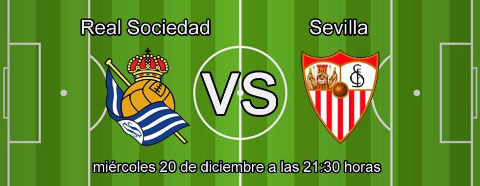Consejos para apostar en el partido Real Sociedad - Sevilla