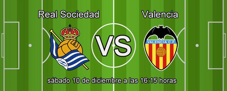 Apuesta segura para el partido Real Sociedad - Valencia